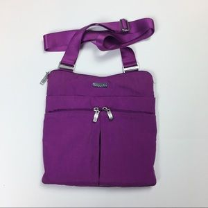 Baggallini Horizon Cross Body Utility Bag Purple